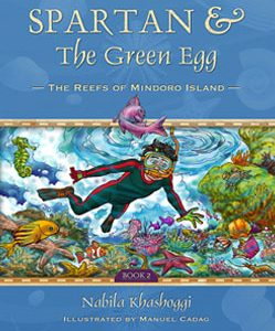 Spartan and the Green Egg: The Reefs of Mindoro Island Book Cover