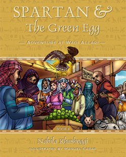 Spartan and the Green Egg: Adventure at wadi Allaqi book cover