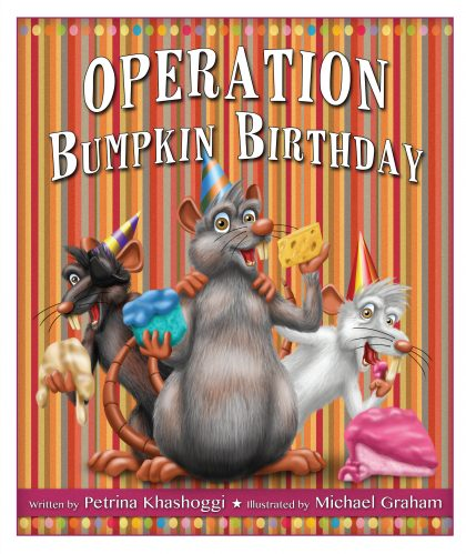 Operation Bumpkin Birthday, book cover front