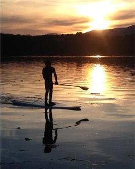 T.S. Daggenhurst Paddleboarding