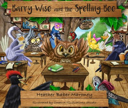 Barry Wise and the Spelling Bee, book cover front