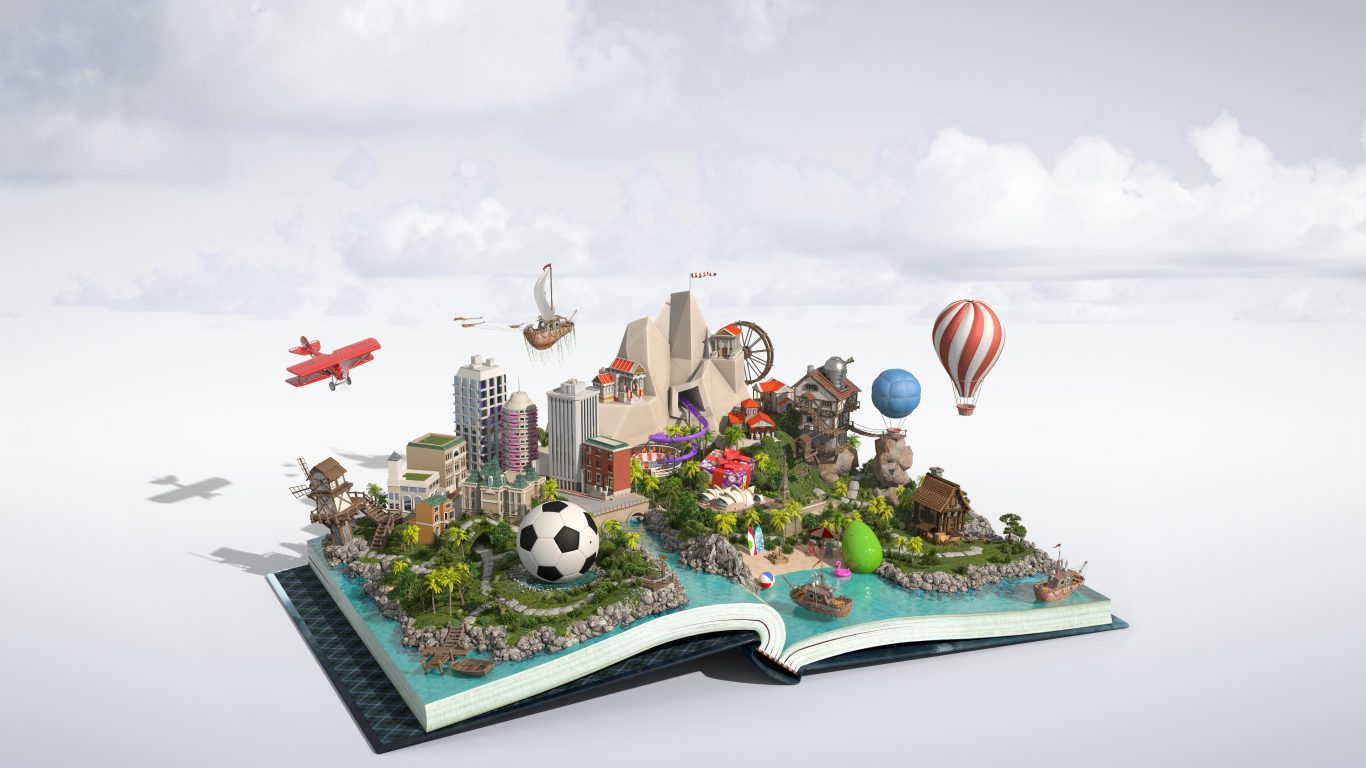Full Cycle Publications: Rediscover your imagination through our books